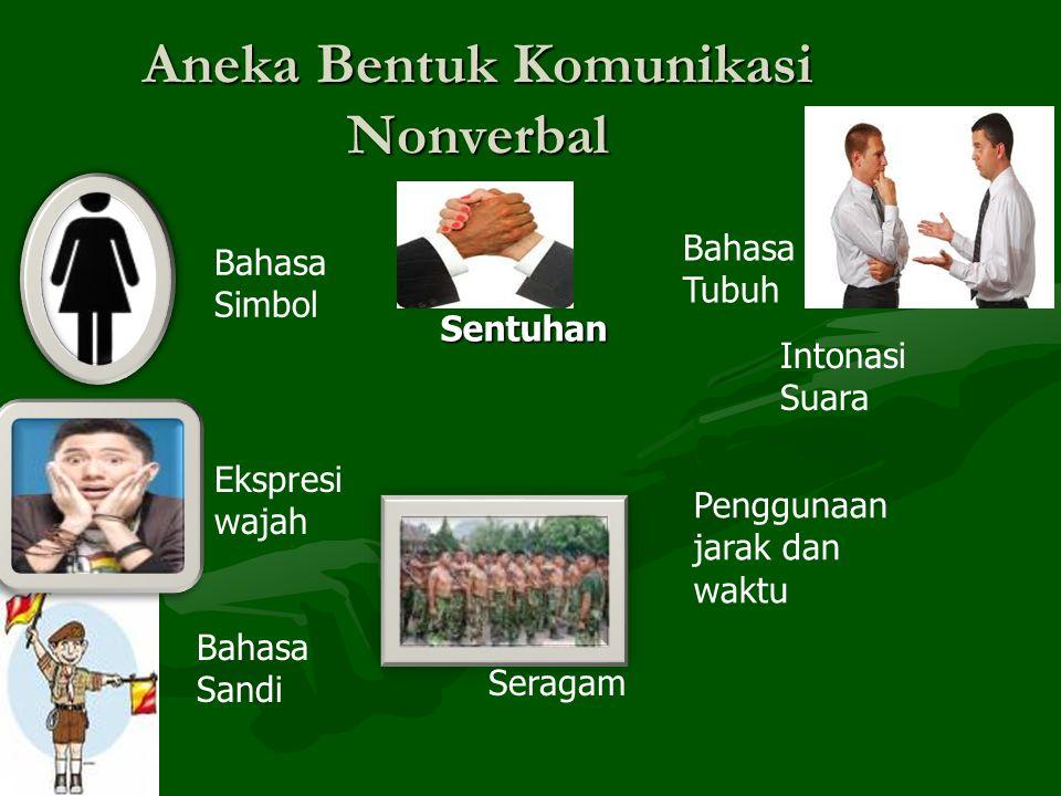Aneka Bentuk Komunikasi Nonverbal