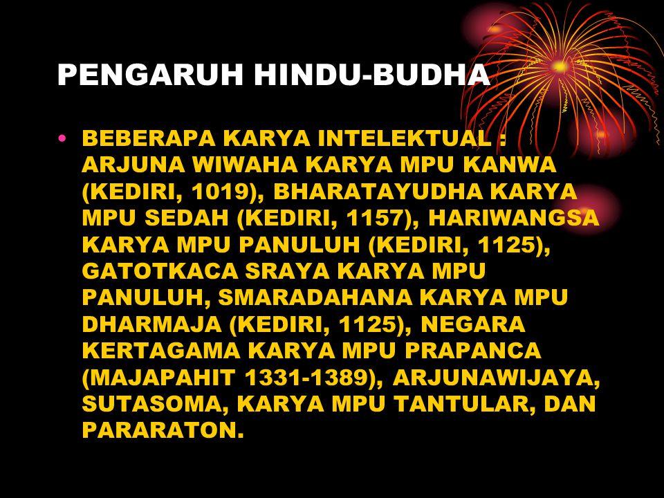 PENGARUH HINDU-BUDHA