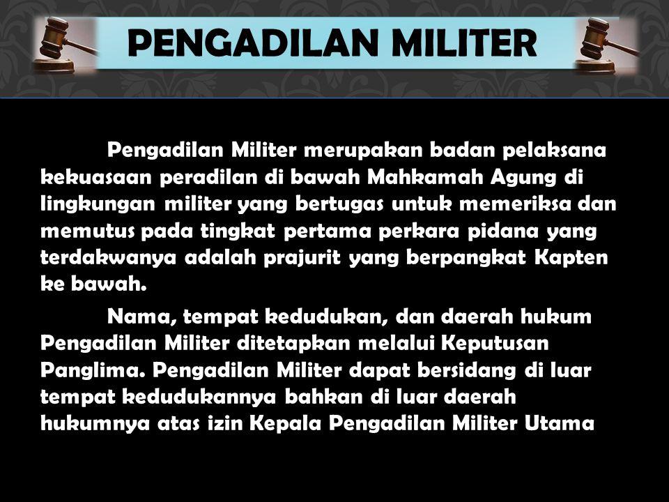 Pengadilan Militer