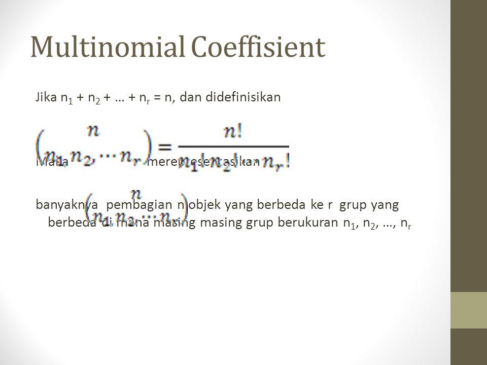 Multinomial Coeffisient