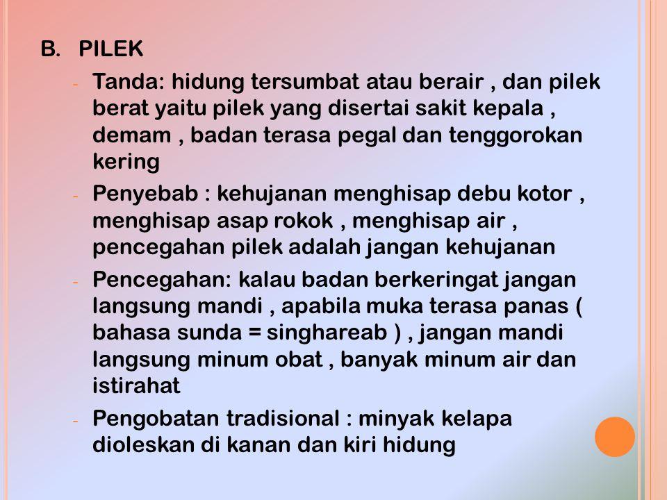 B. PILEK