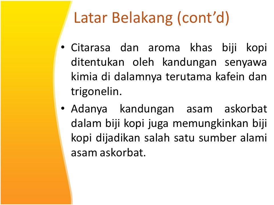 Latar Belakang (cont'd)
