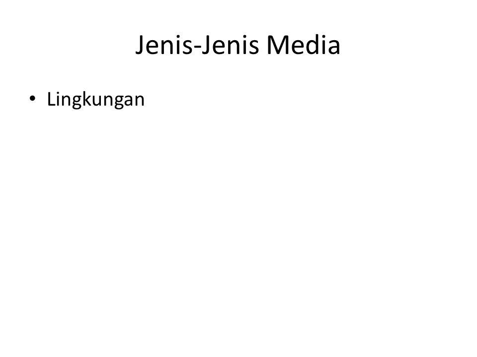 Jenis-Jenis Media Lingkungan