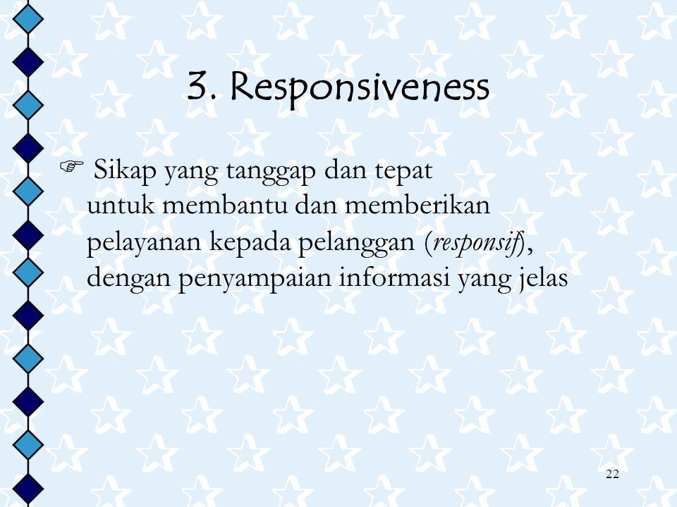 3. Responsiveness