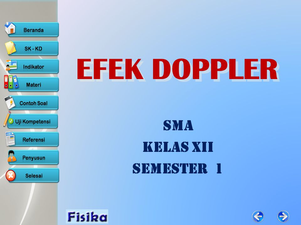 EFEK DOPPLER SMA Kelas XII Semester 1