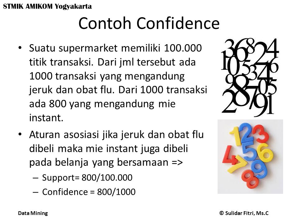 Contoh Confidence