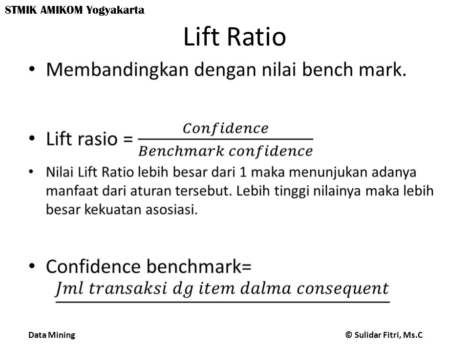 Lift Ratio