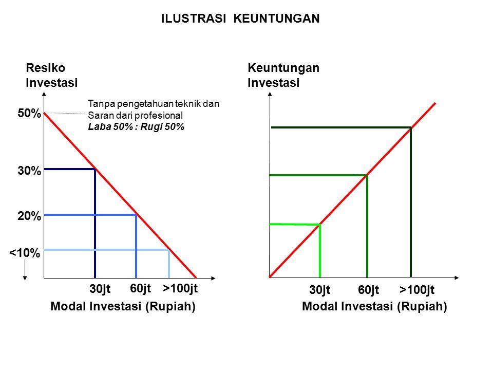 Modal Investasi (Rupiah) Modal Investasi (Rupiah)
