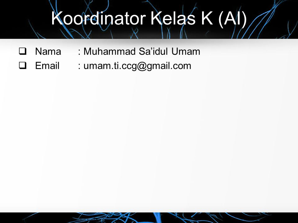 Koordinator Kelas K (AI)