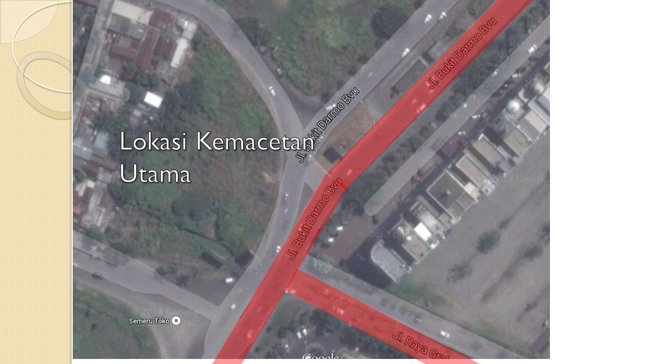 Lokasi Kemacetan Utama