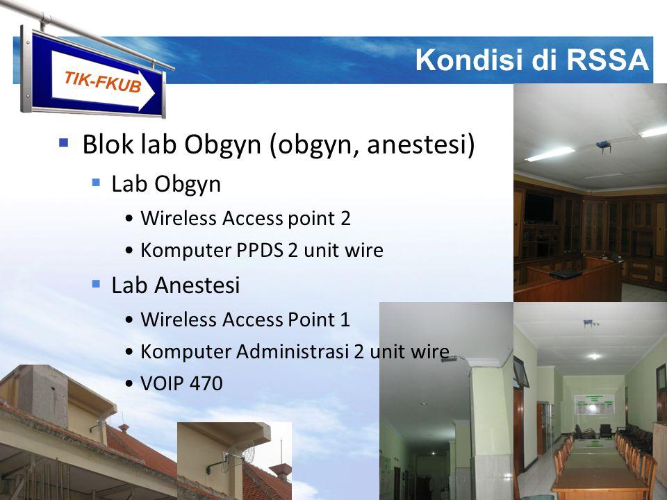 Blok lab Obgyn (obgyn, anestesi)