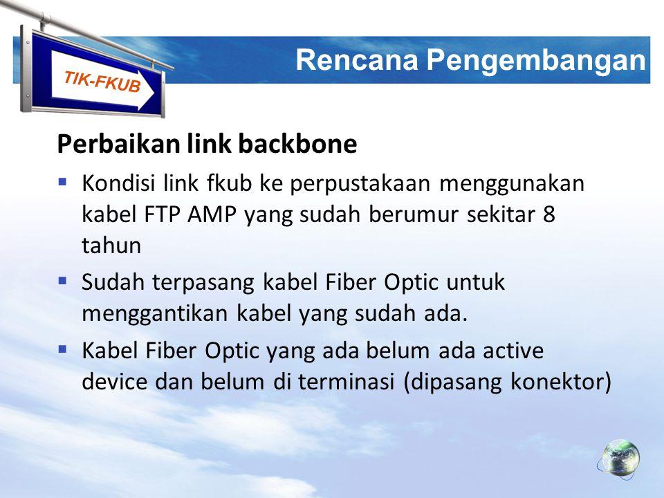Perbaikan link backbone