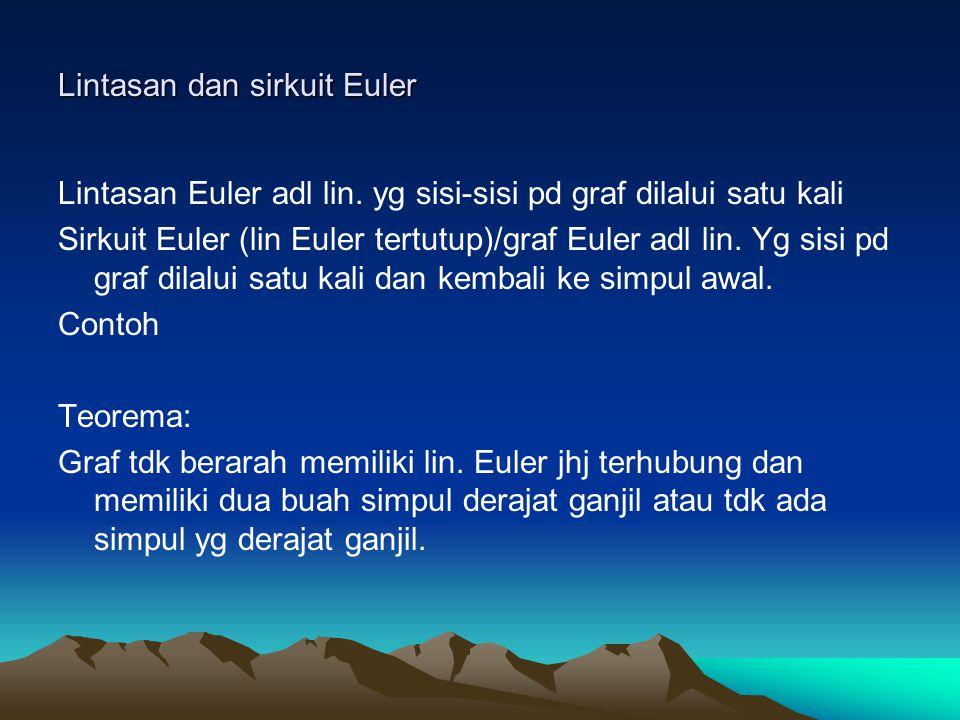 Lintasan dan sirkuit Euler