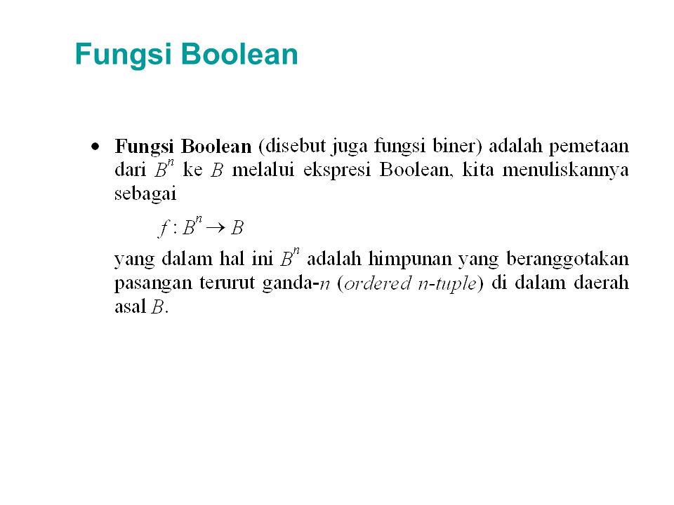 Fungsi Boolean