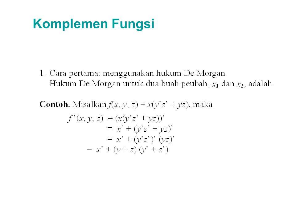 Komplemen Fungsi