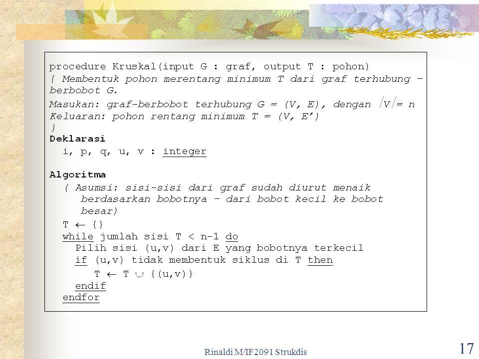 Rinaldi M/IF2091 Strukdis