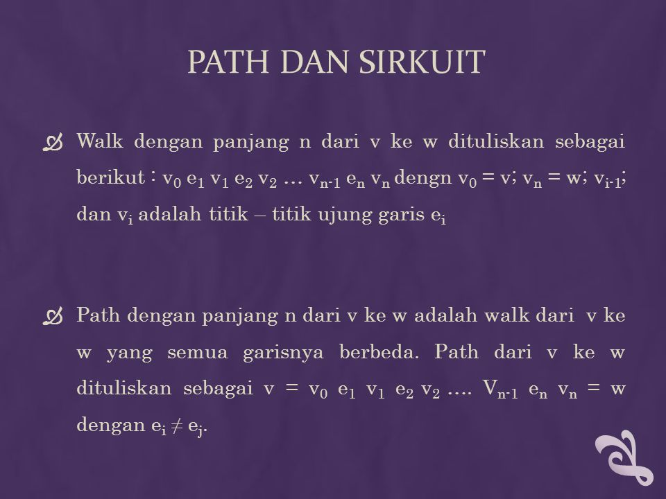 Path dan sirkuit