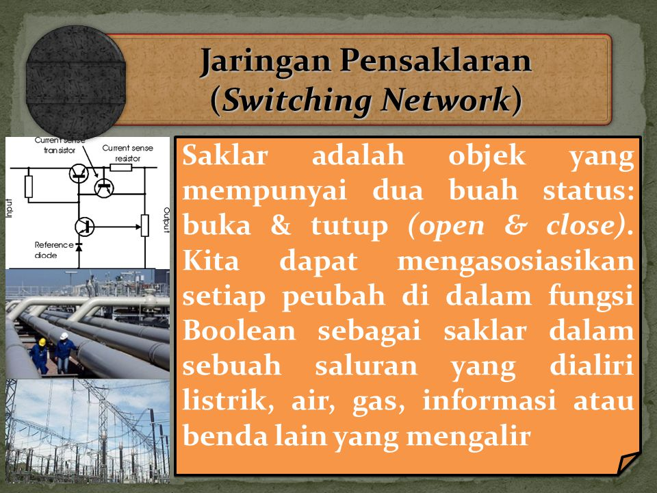 Jaringan Pensaklaran (Switching Network)