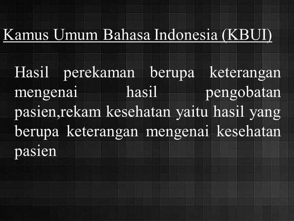Kamus Umum Bahasa Indonesia (KBUI)