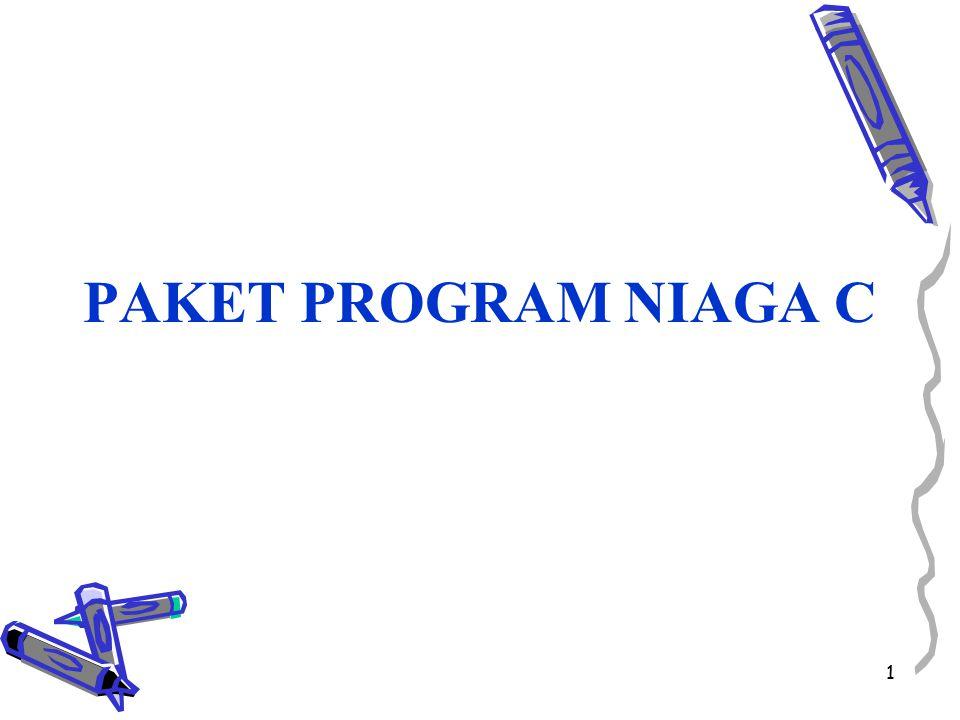 PAKET PROGRAM NIAGA C 1