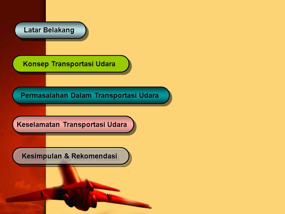 Keselamatan Transportasi Udara Kesimpulan & Rekomendasi