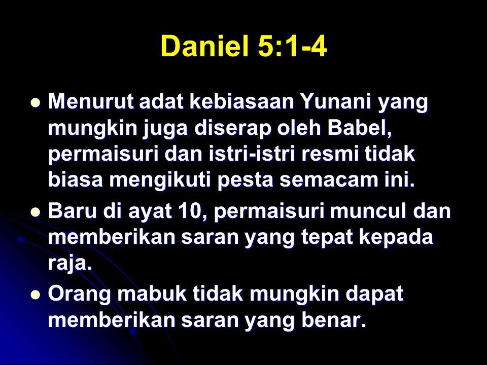 Daniel 5:1-4