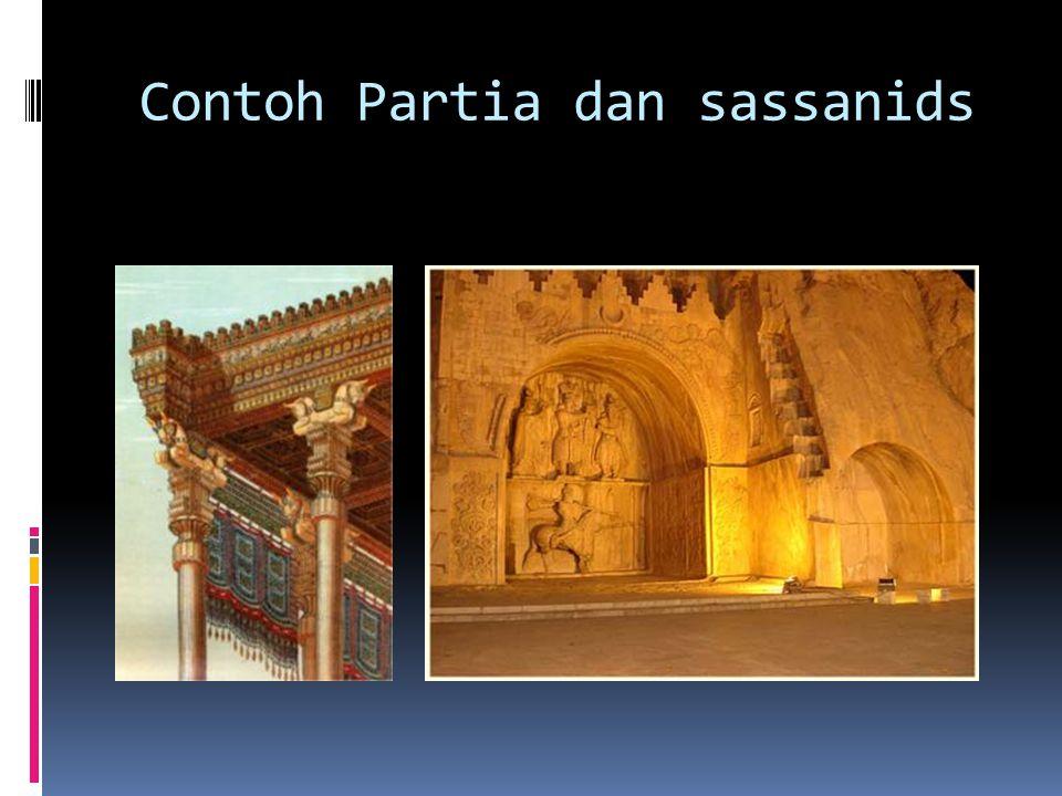 Contoh Partia dan sassanids