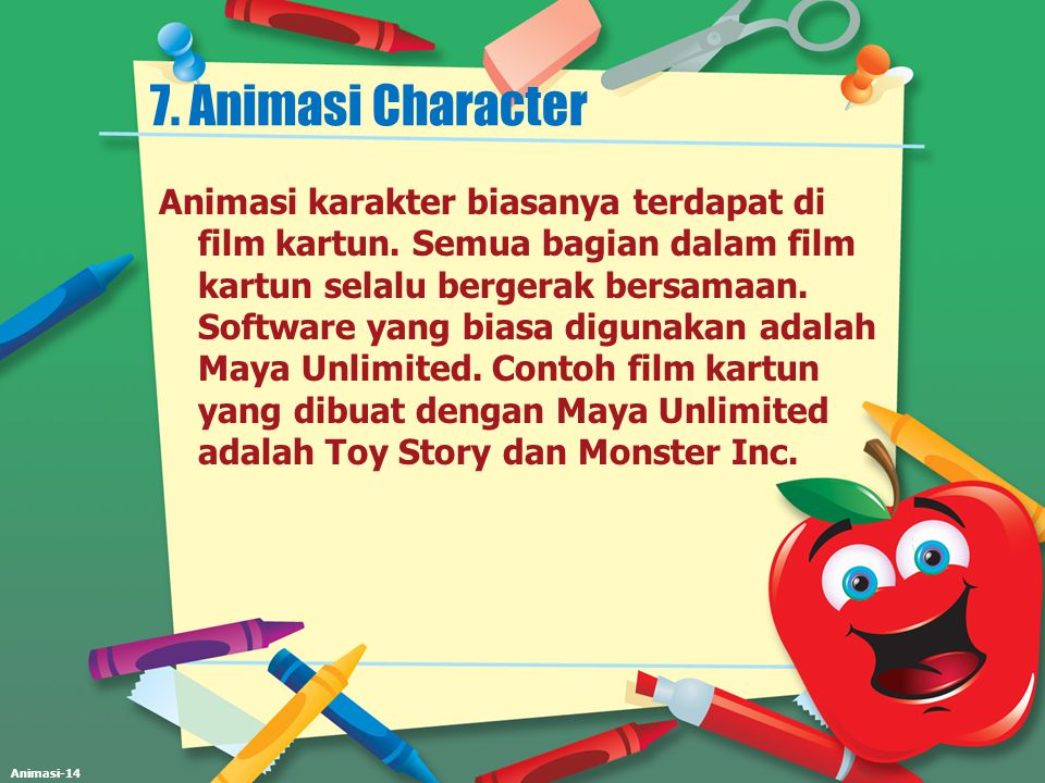 7. Animasi Character
