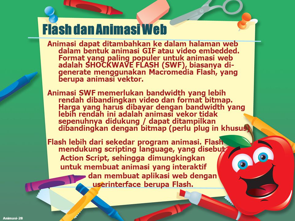 Flash dan Animasi Web