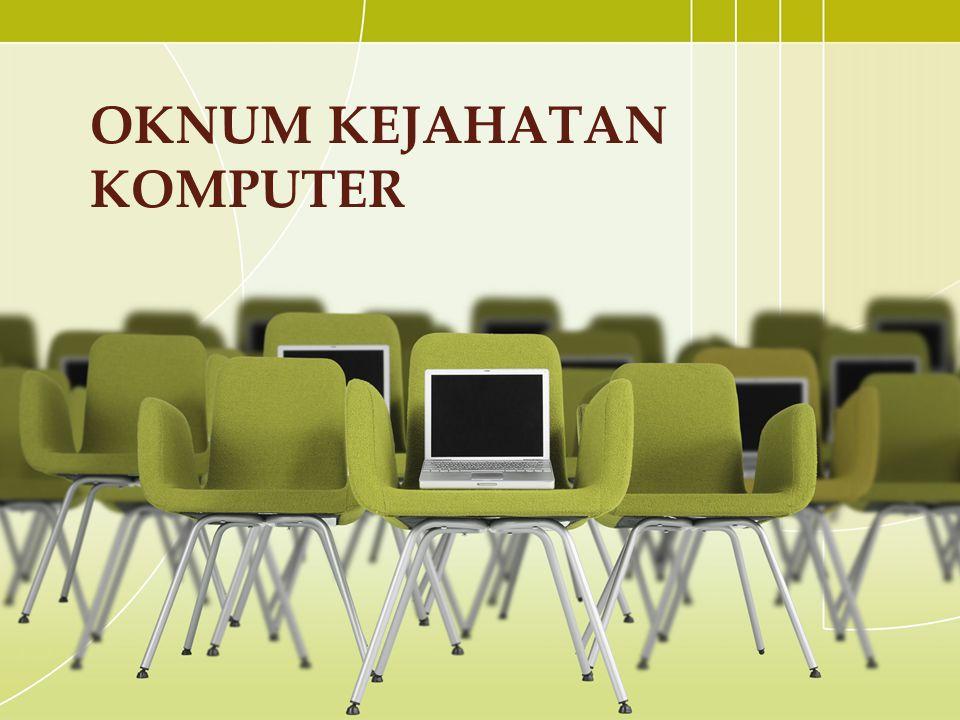 oknum kejahatan komputer