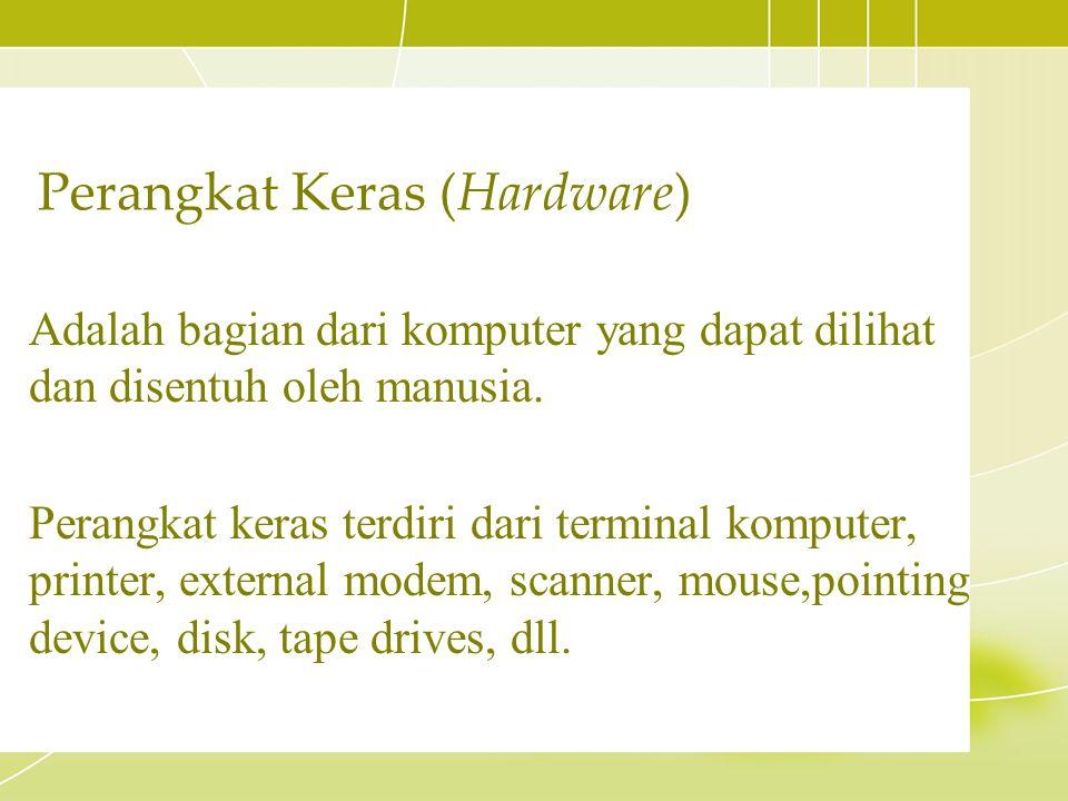 Perangkat Keras (Hardware)