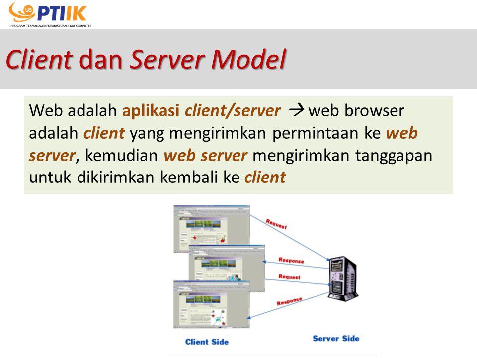 Client dan Server Model