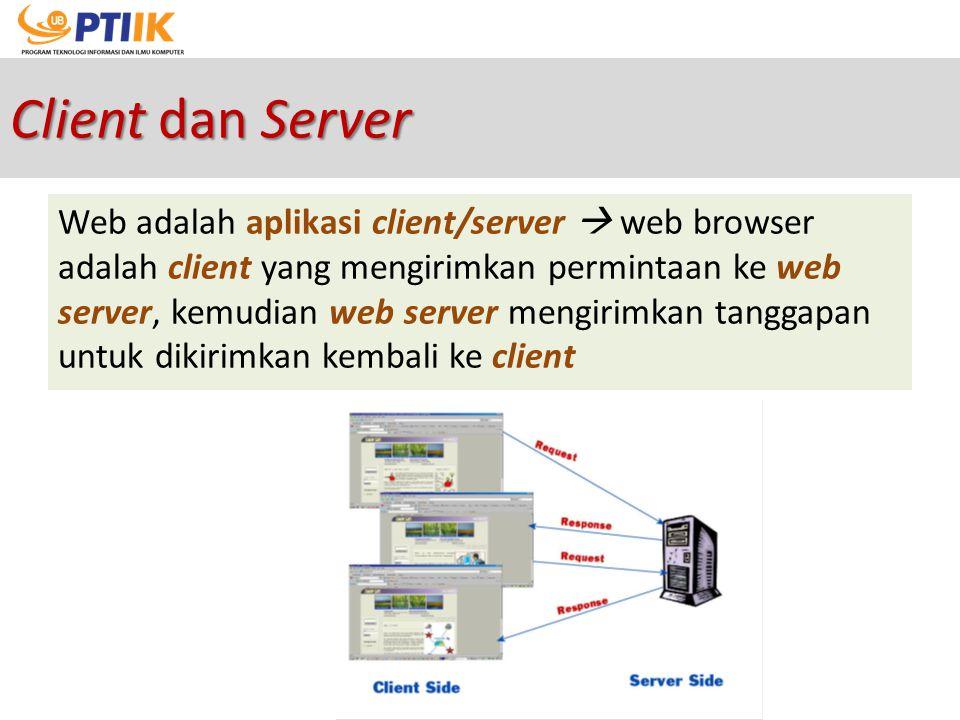 Client dan Server