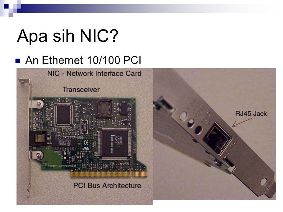 Apa sih NIC An Ethernet 10/100 PCI