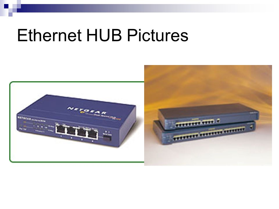 Ethernet HUB Pictures