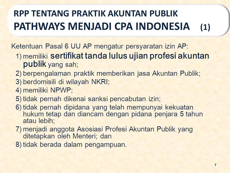 RPP TENTANG PRAKTIK AKUNTAN PUBLIK PATHWAYS MENJADI CPA INDONESIA (1)