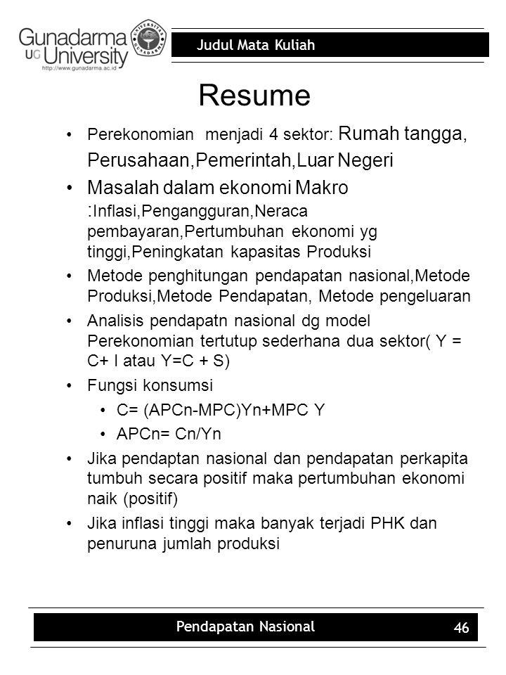 Resume Perusahaan,Pemerintah,Luar Negeri