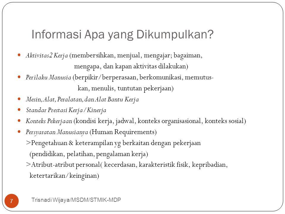 Informasi Apa yang Dikumpulkan