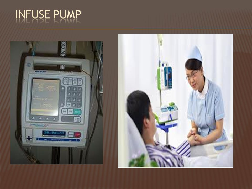Infuse pump