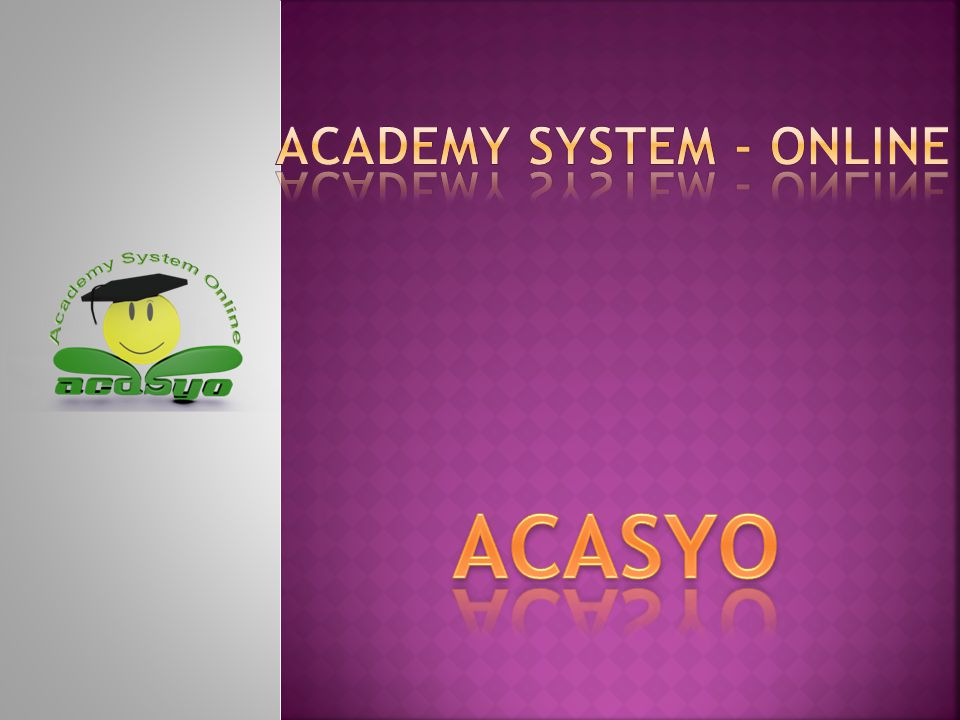 Academy System - Online