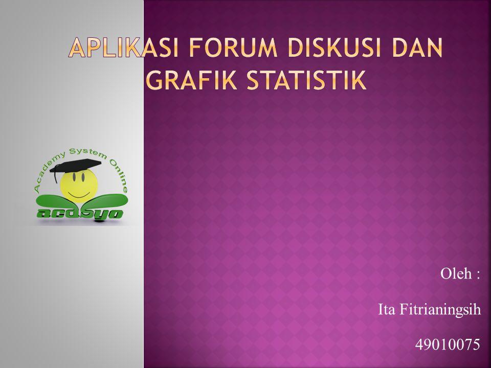 Aplikasi Forum Diskusi Dan Grafik Statistik