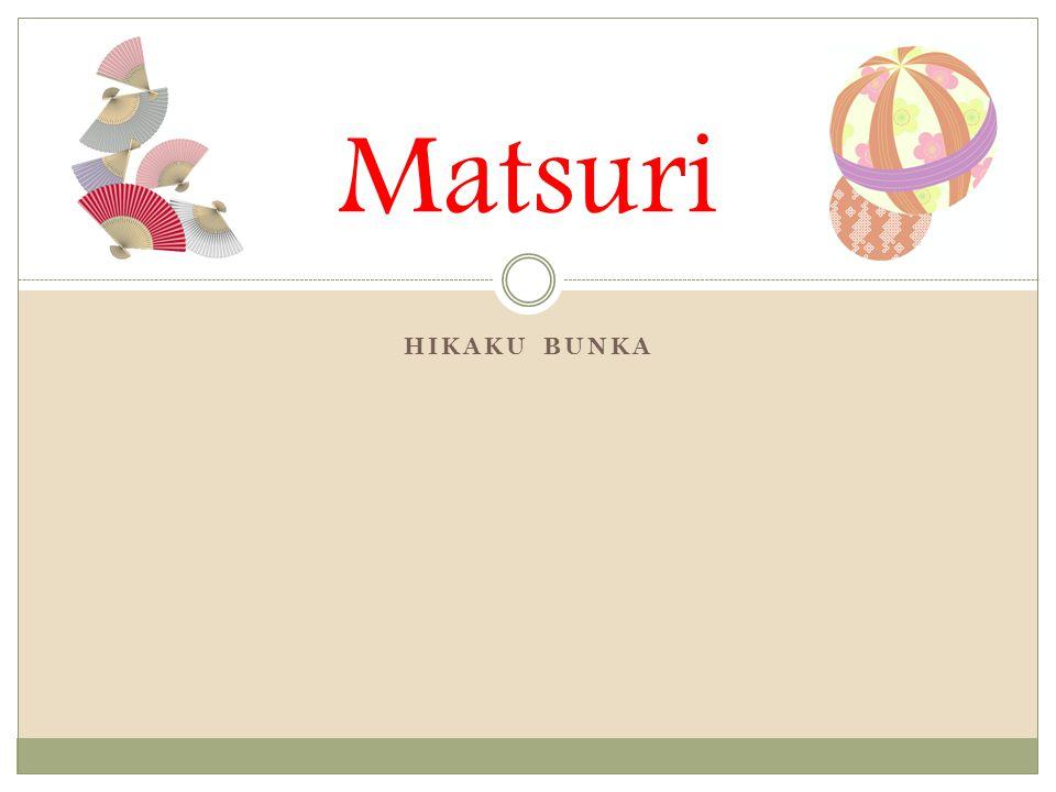 Matsuri HIKAKU BUNKA