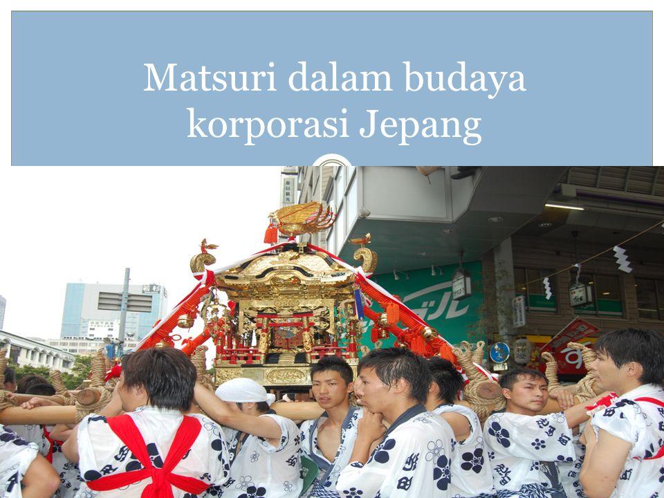 Matsuri dalam budaya korporasi Jepang