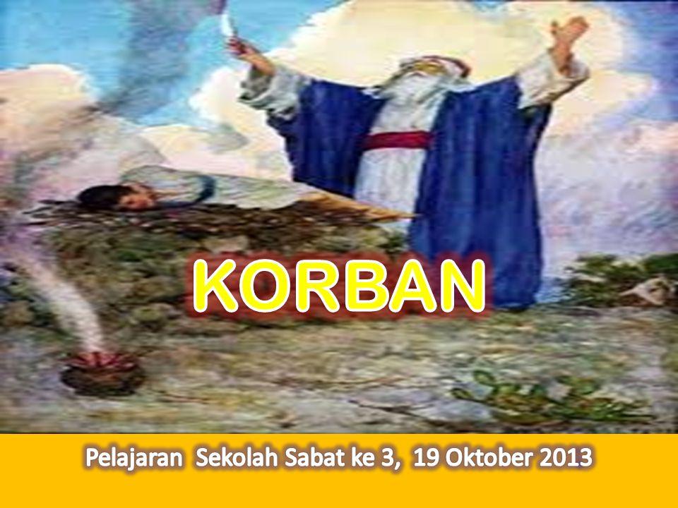 Pelajaran Sekolah Sabat ke 3, 19 Oktober 2013
