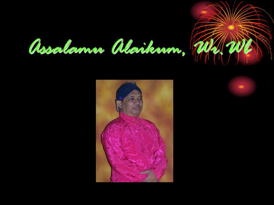 Assalamu Alaikum, Wr.Wb
