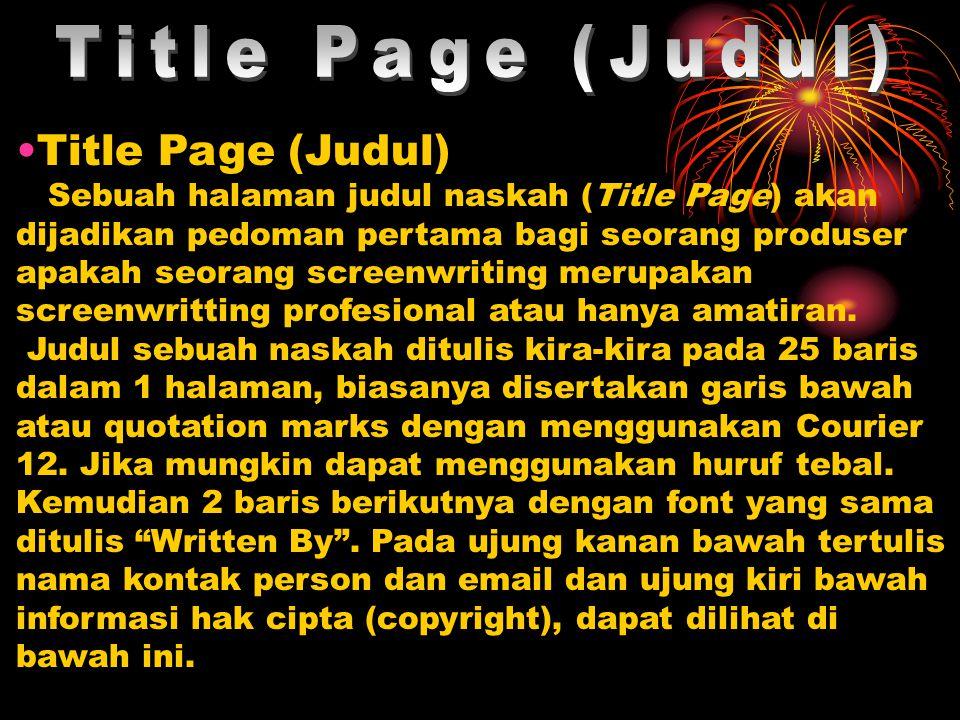 Title Page (Judul) Title Page (Judul)