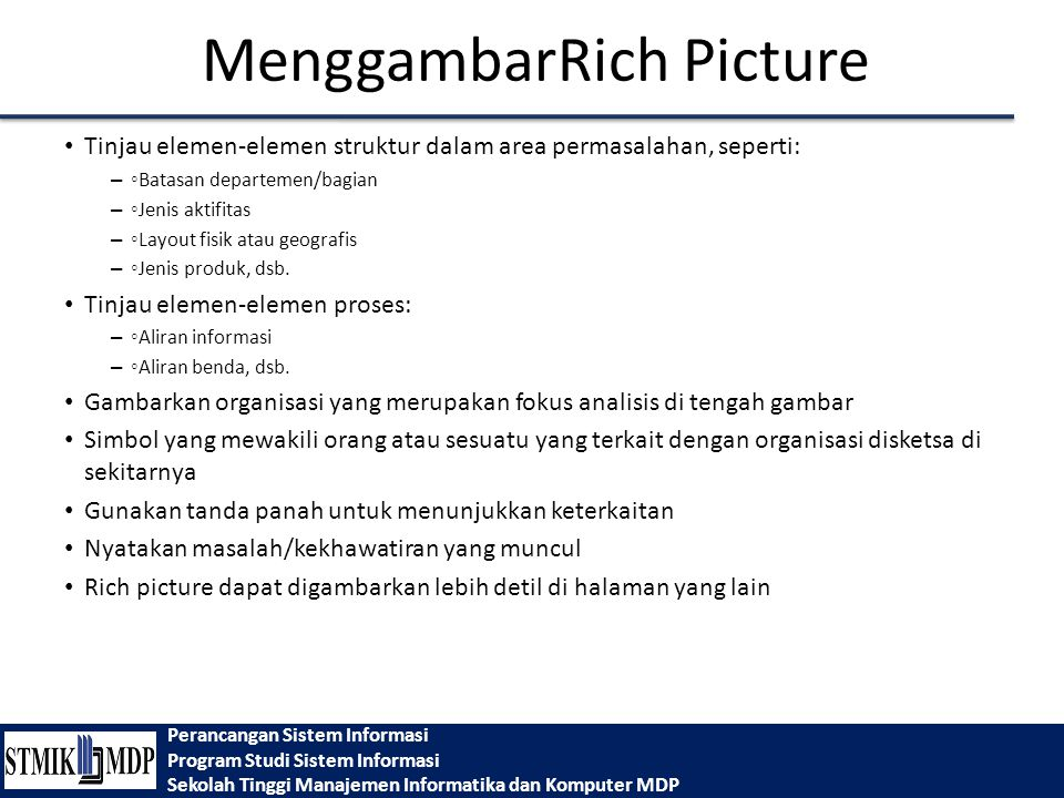 MenggambarRich Picture