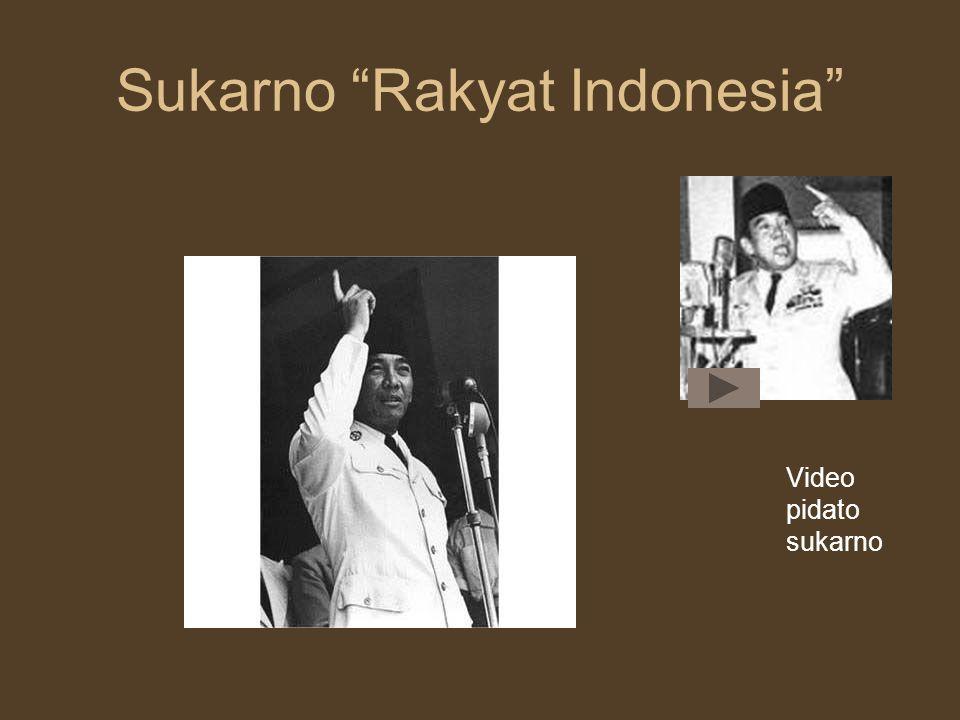 Sukarno Rakyat Indonesia