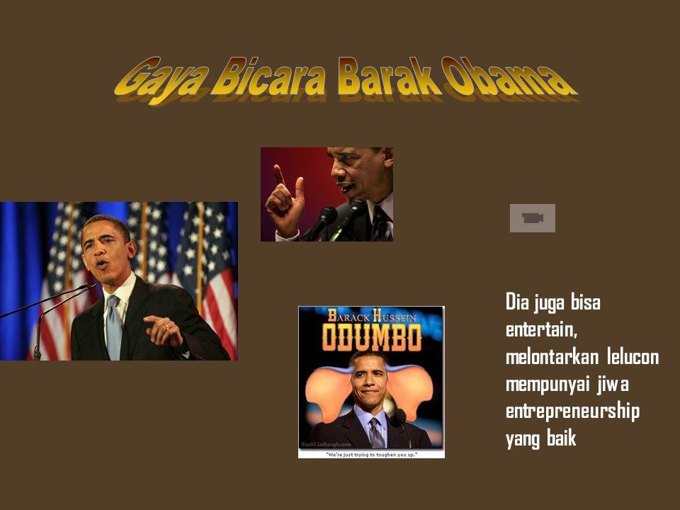 Gaya Bicara Barak Obama