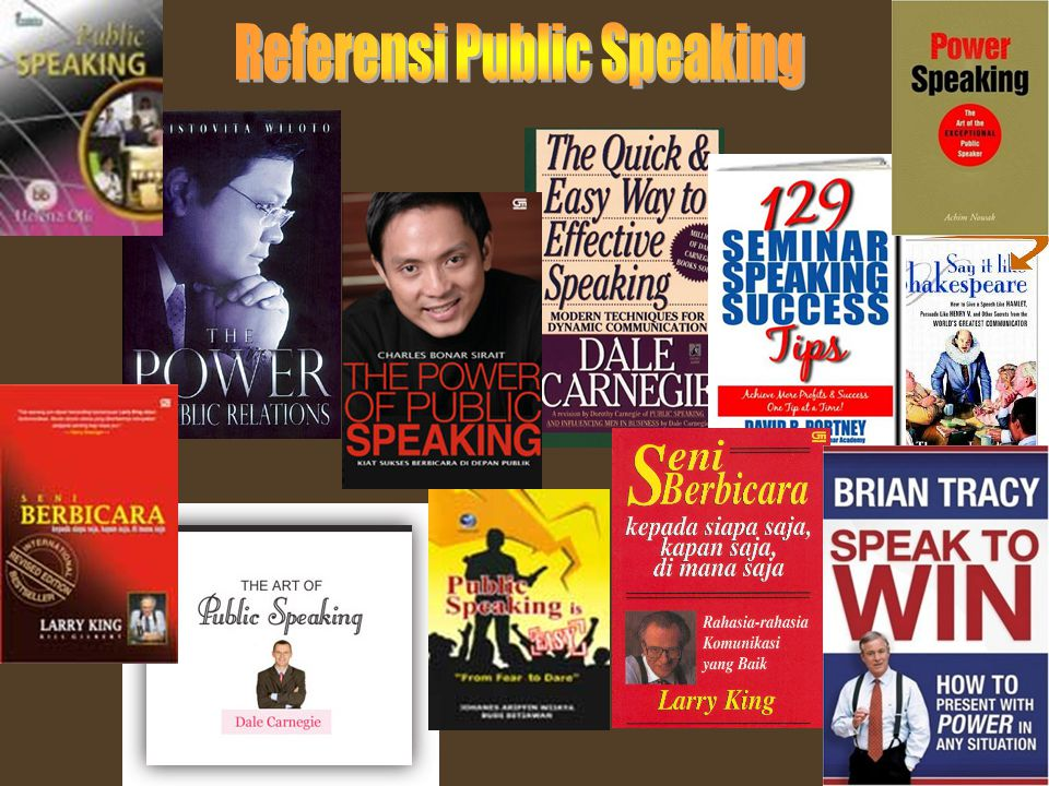 Referensi Public Speaking